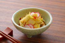 長芋の酢の物